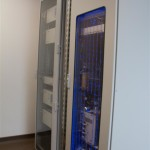 Room calorimeter gas analysis unit