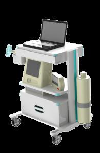 Concept of a mobile setup of the carbon-dioxide tolerance test setup